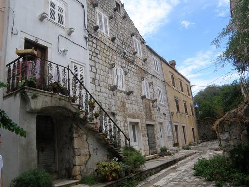 Ville fortifiée de Mali Ston en Croatie
