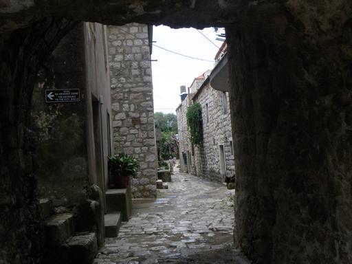 Ville fortifiée de Ston en Croatie