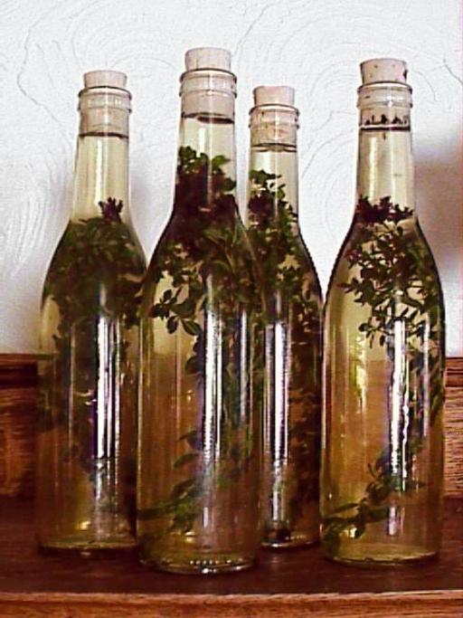 Vinaigre en bouteille