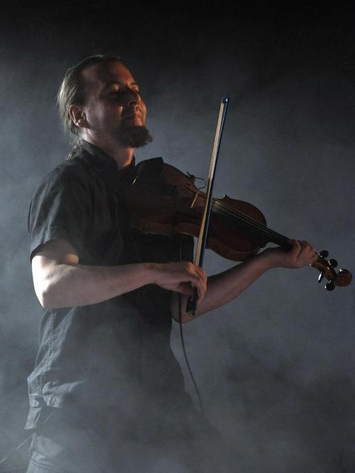 Violoniste du groupe Dornenreich