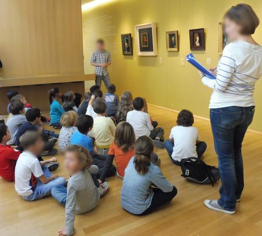 Visite de classe au musée des beaux-arts de Dijon