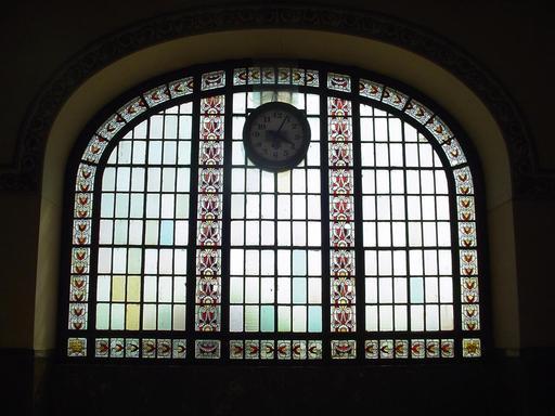 Vitraux de la gare de Haydarpaşa à Istanbul