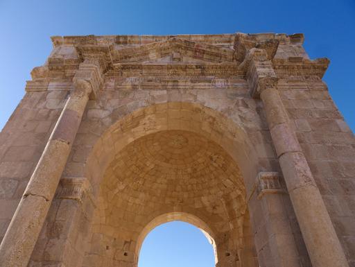 Voute du Tétrapyle Nord de Jerash