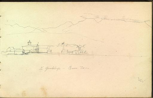 Vue de Basse Terre en Guadeloupe en 1896