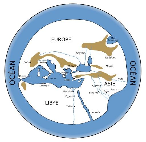 Vue grecque du monde à la naissance d'Alexandre