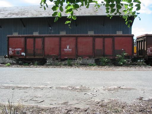 Wagon-tombereau ferroviaire