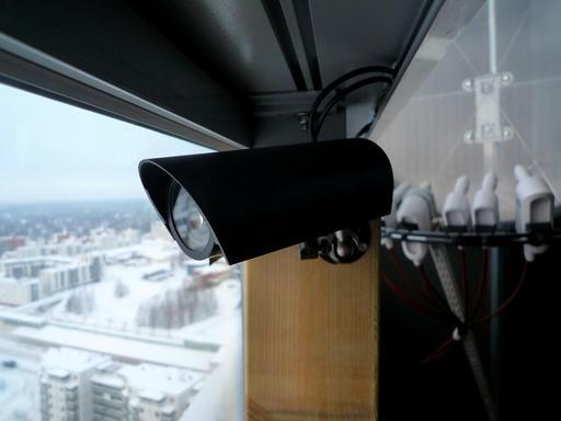Webcam en extérieur