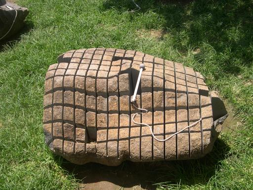 Xylophone en pierre