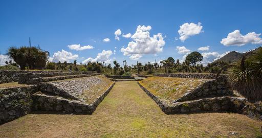 Zone archéologique au Mexique