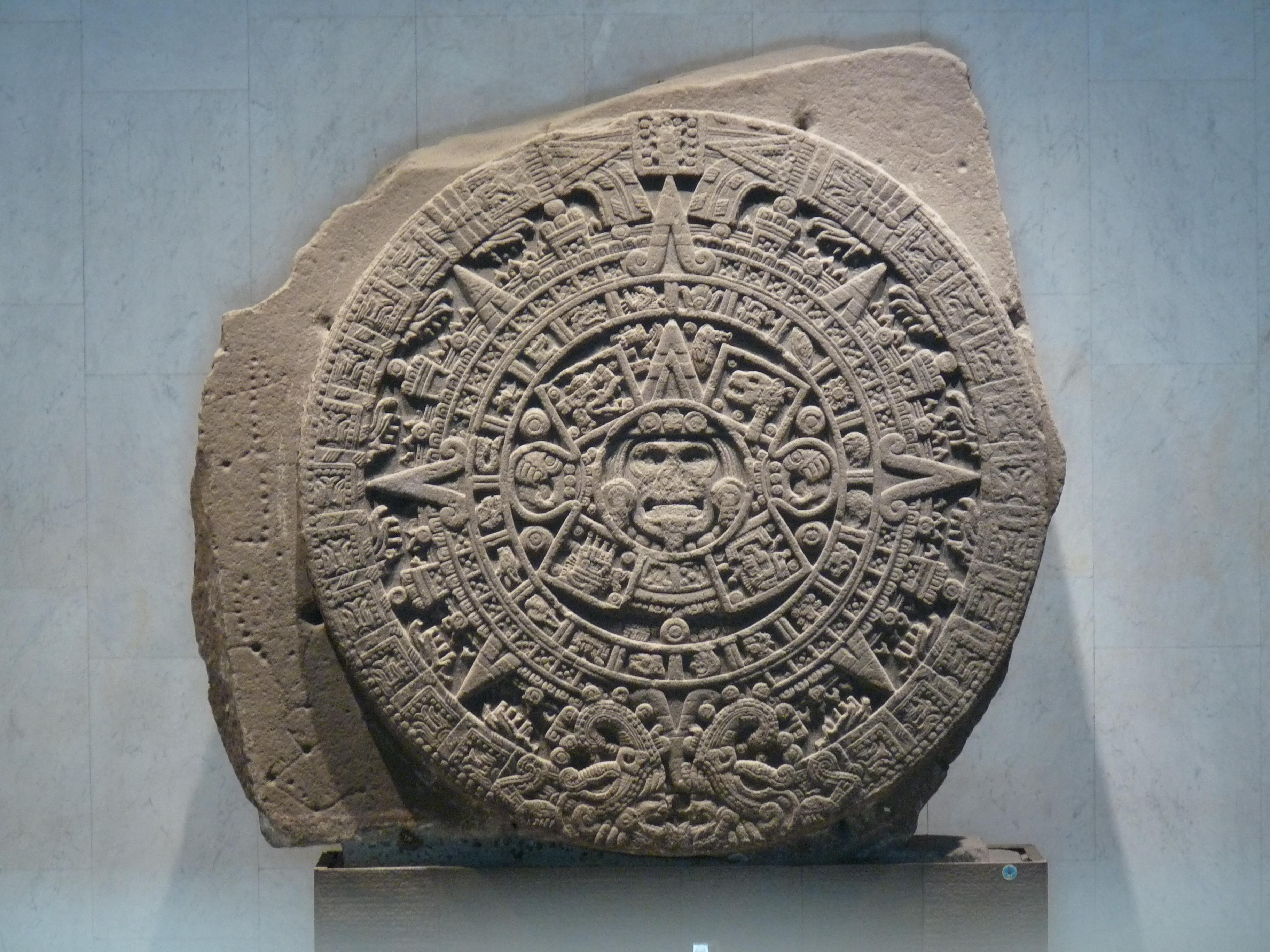 calendrier de pierre des azteques