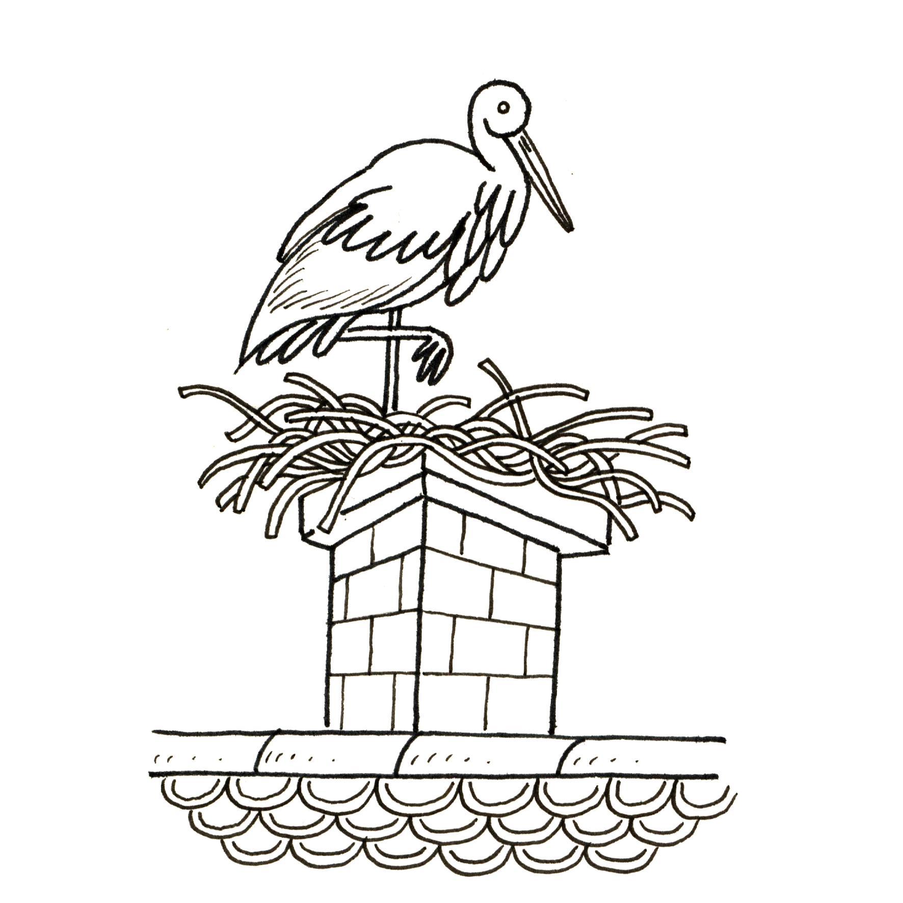 Ressources ducatives libres les ressources libres du projet abul du - Cigogne dessin ...