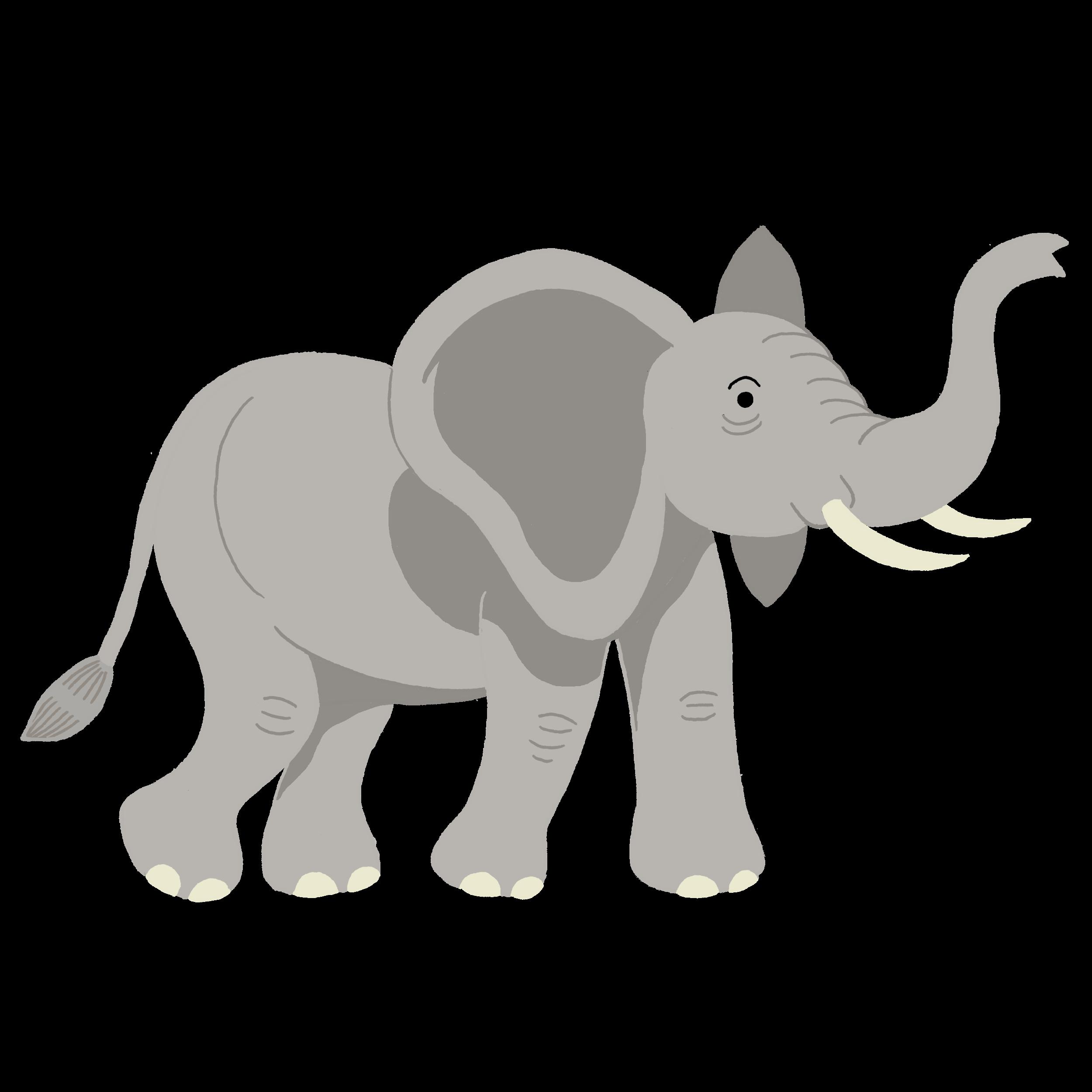 Ressources ducatives libres les - Dessin d elephant ...