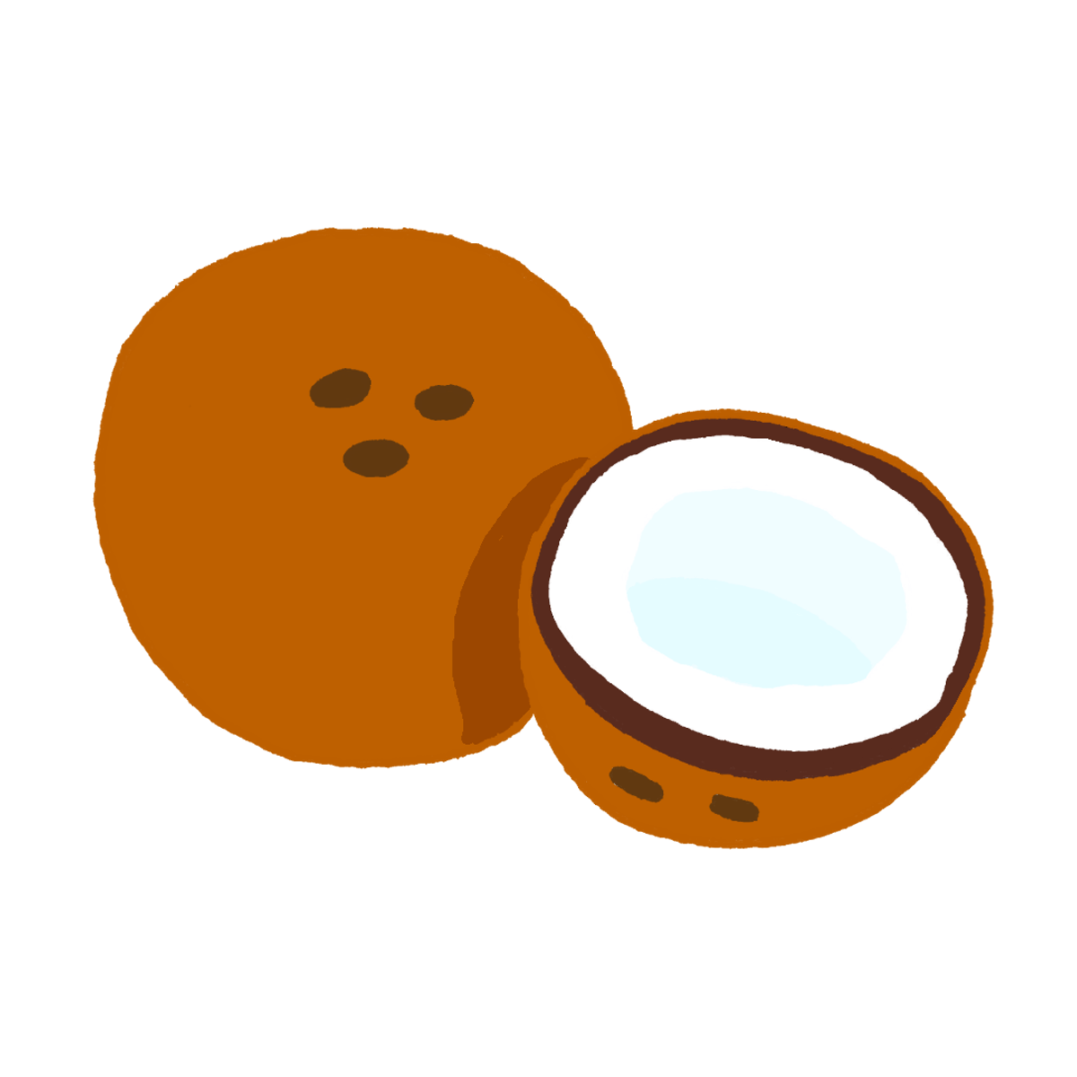 Pin noix de coco dessin on pinterest - Dessin noix de coco ...