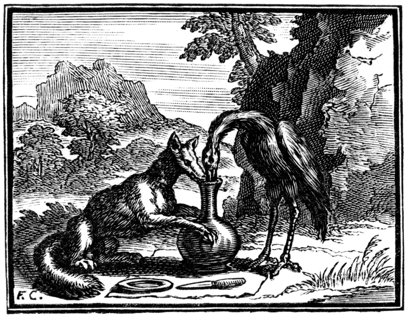 Impressionnant Dessin à Colorier Le Corbeau Et Le Renard