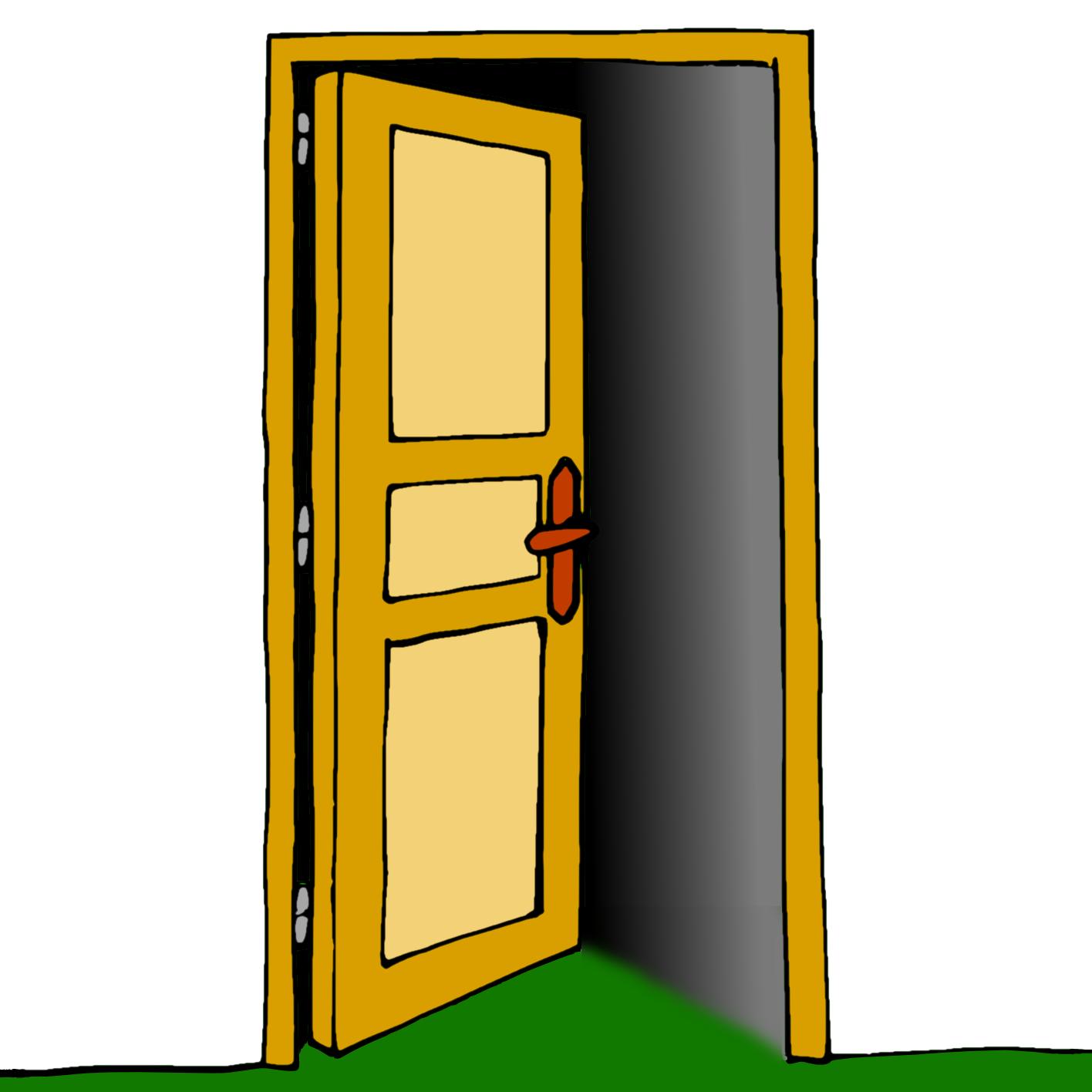Ressources ducatives libres les for Porte ouverte dessin