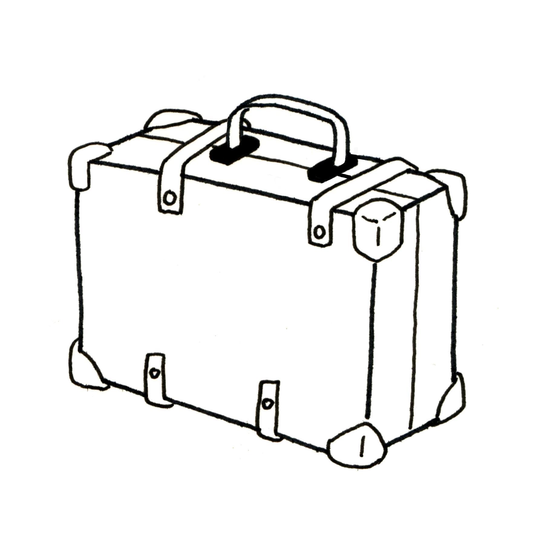 Ressources ducatives libres les - Dessin de valise ...